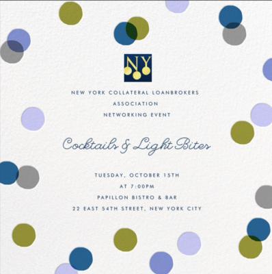 CLANY Fall Event Invite